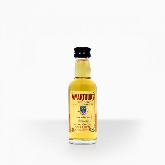 Whisky Mac Arthur´s 40% 0,05l