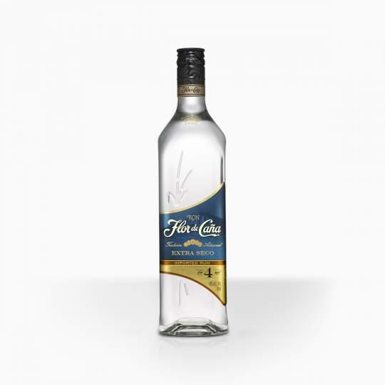 Rum Flor De Cana Extra Dry 4YO 40% 0,7l