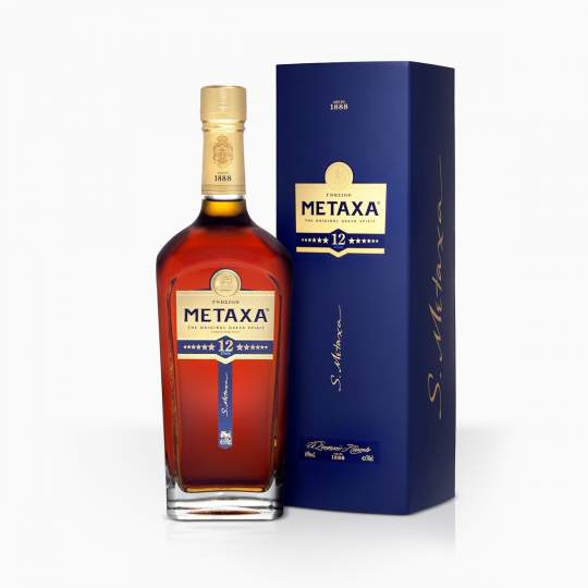 Brandy Metaxa 12* 40% 0,7l