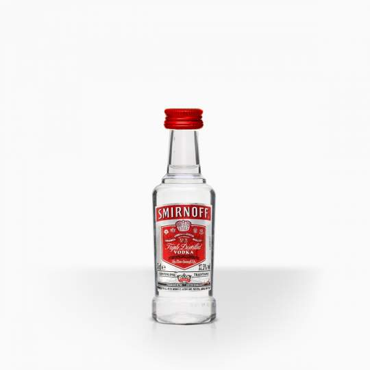 Vodka Smirnoff Red 37,5% 0,05l