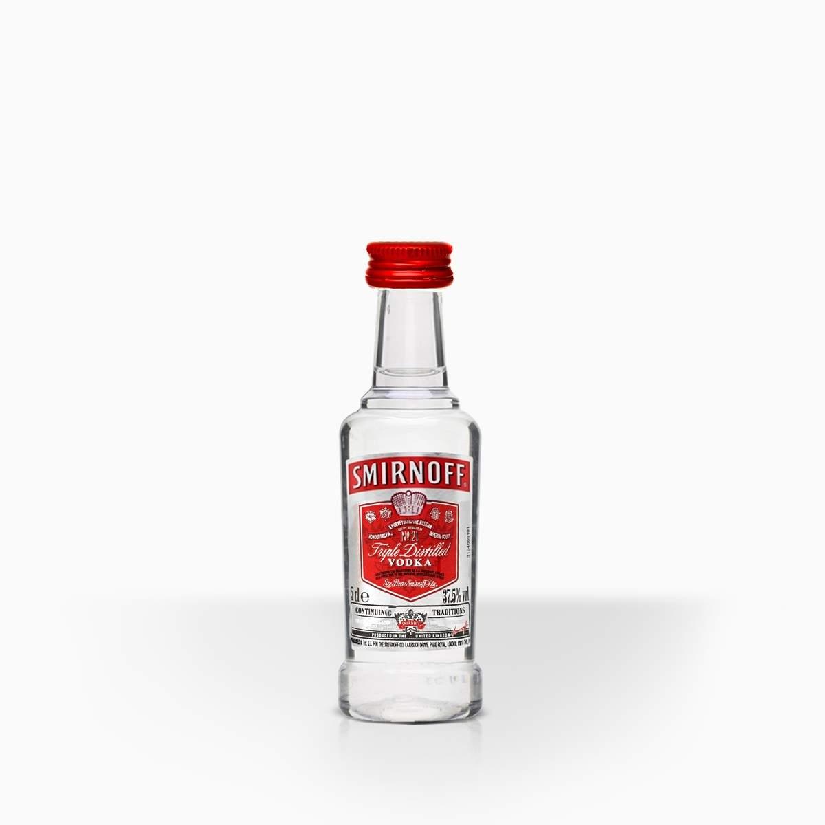 Vodka Smirnoff Red 37,5% 0,05l