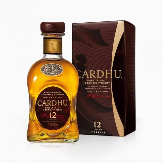 Whisky Cardhu 12YO 40% 0,7l