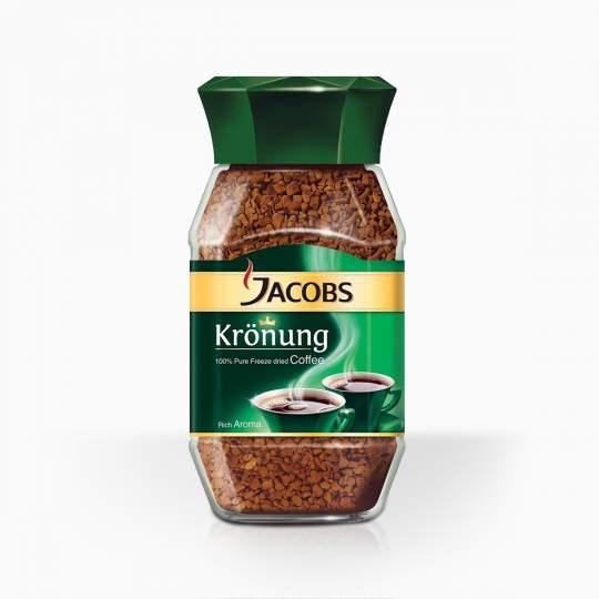 Jacobs Kronung instantná káva 200g