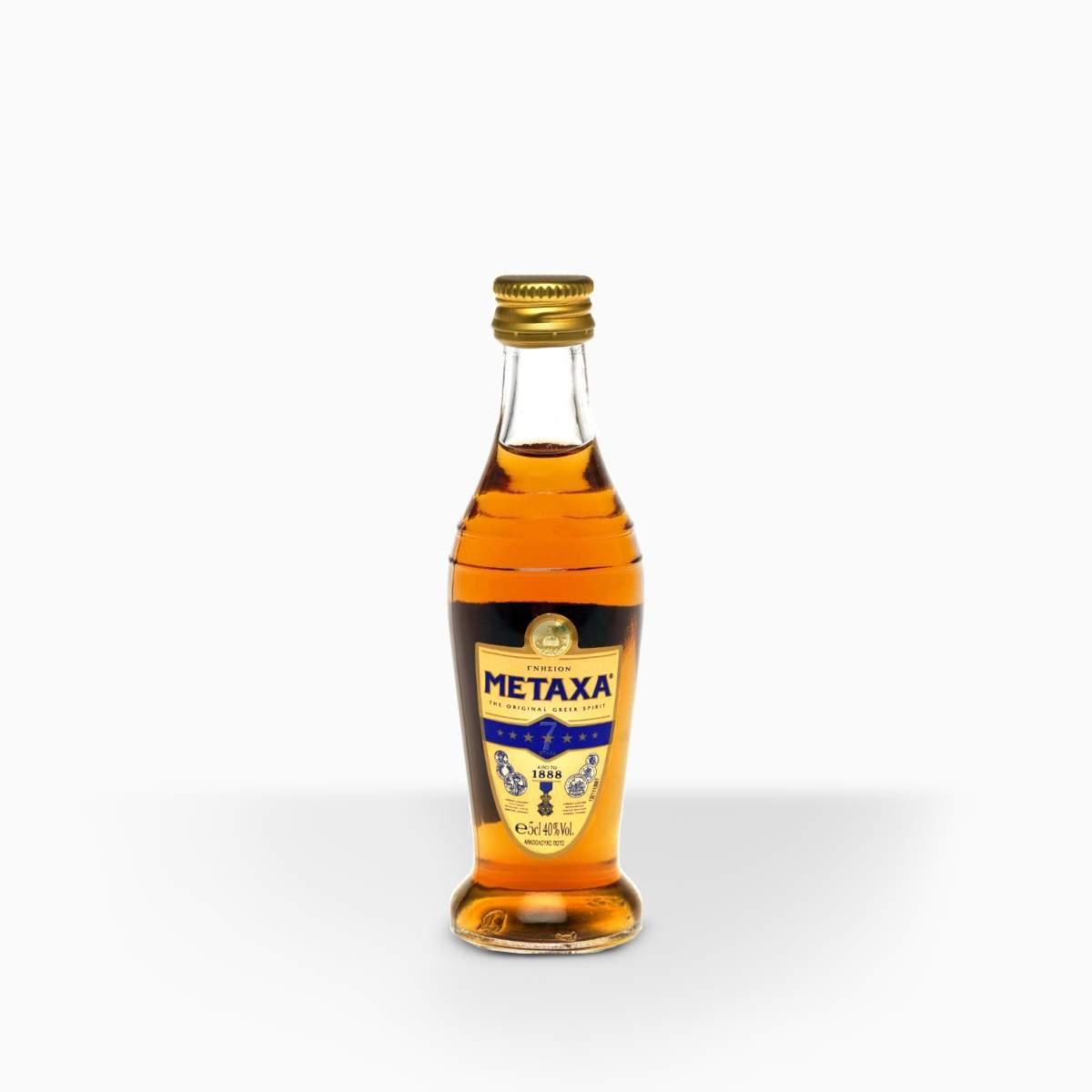 Brandy Metaxa 7* 40% 0,05l