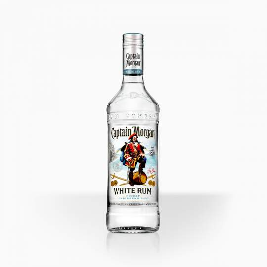 Rum Captain Morgan White 37,5% 0,7l