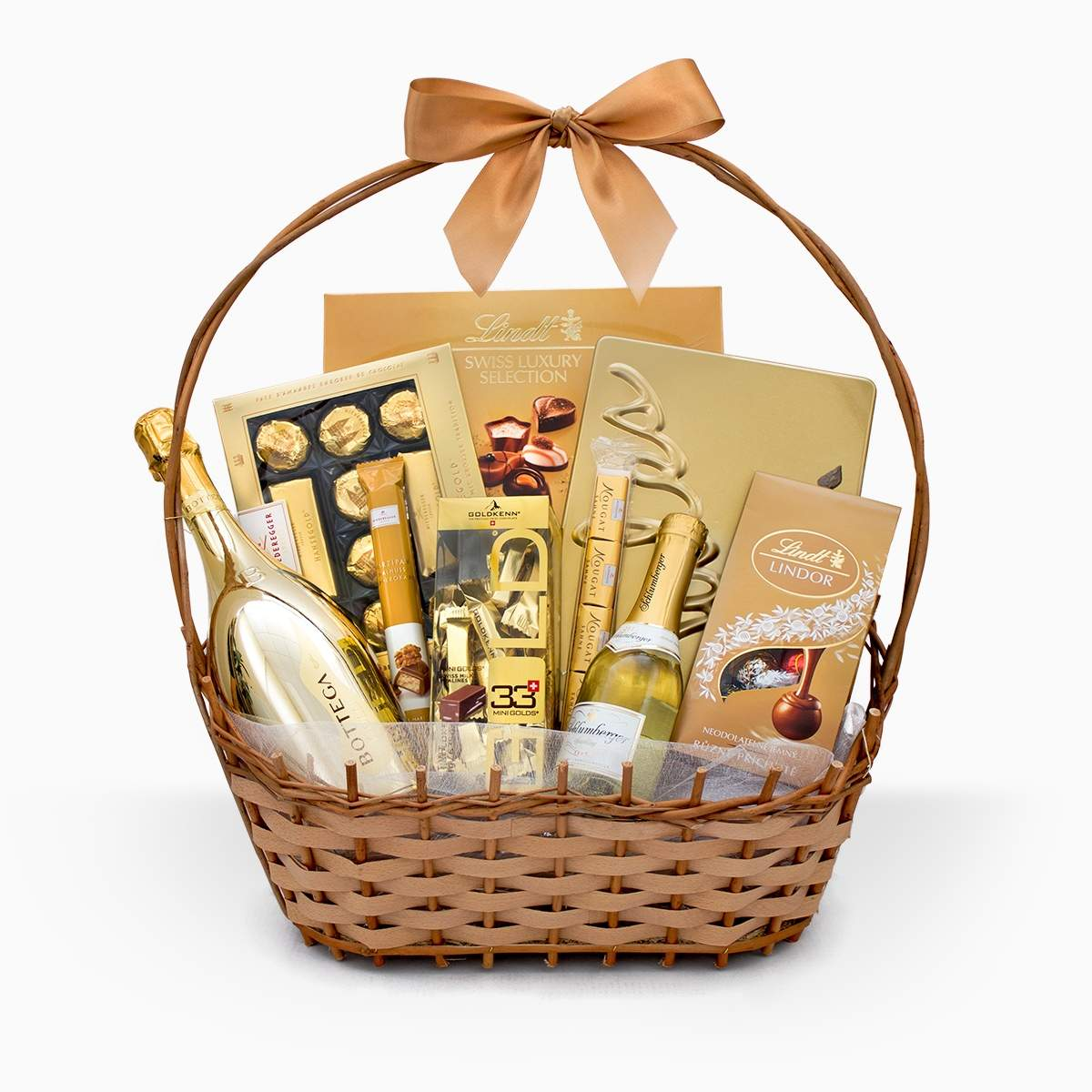 "Gift Basket ""Golden Collection"""