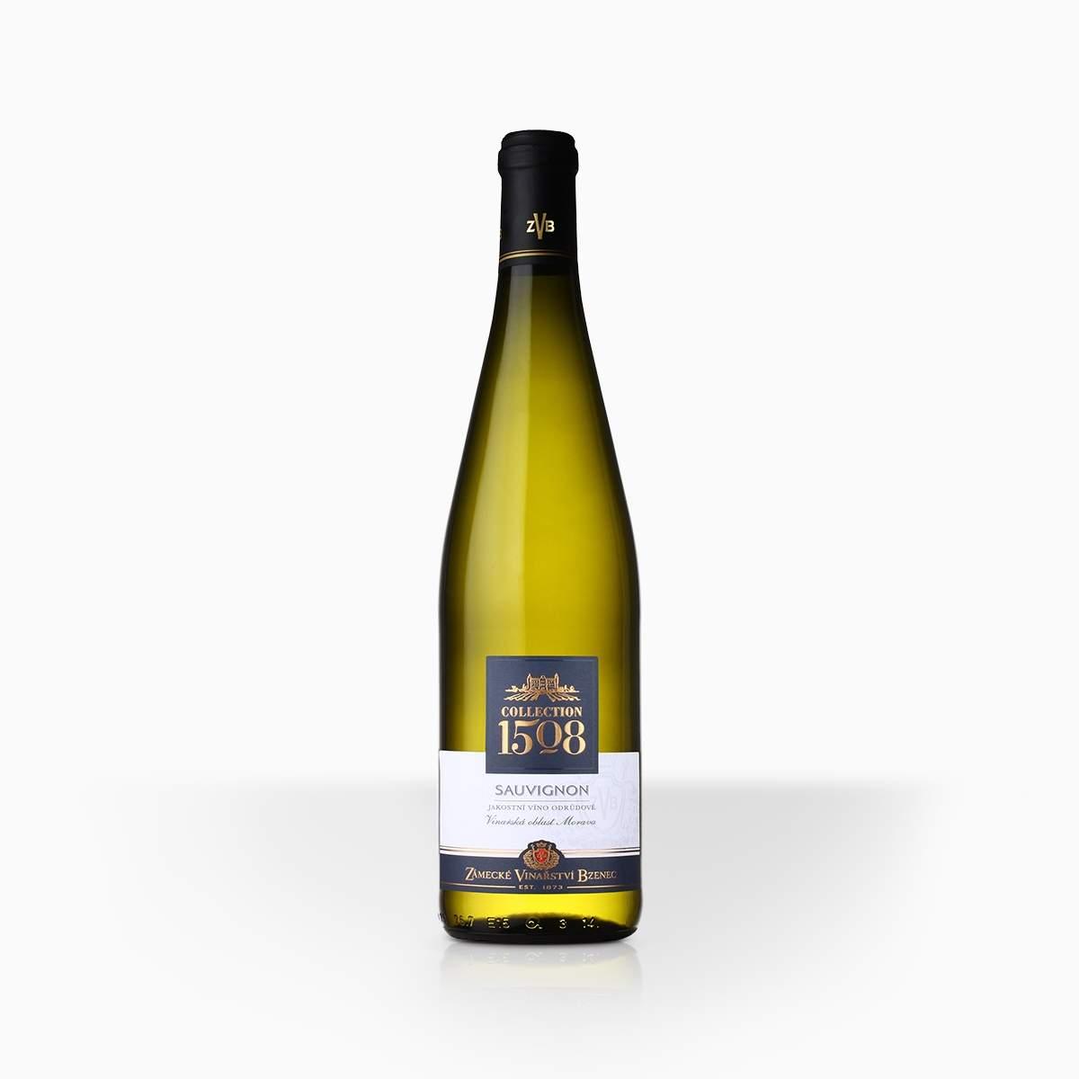 Víno ZVB Collection 1508 Sauvignon 12,3% 0,75l