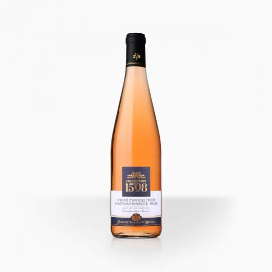 Víno ZVB Collection 1508 Cuvee Rose 12,4% 0,75l