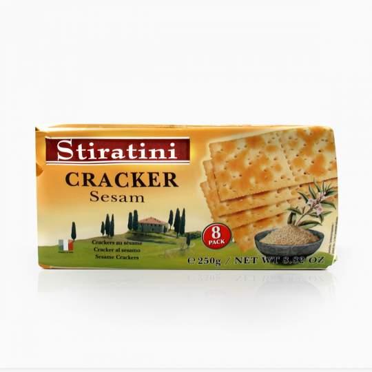 Stiratini slané krekry so sezamom 250g