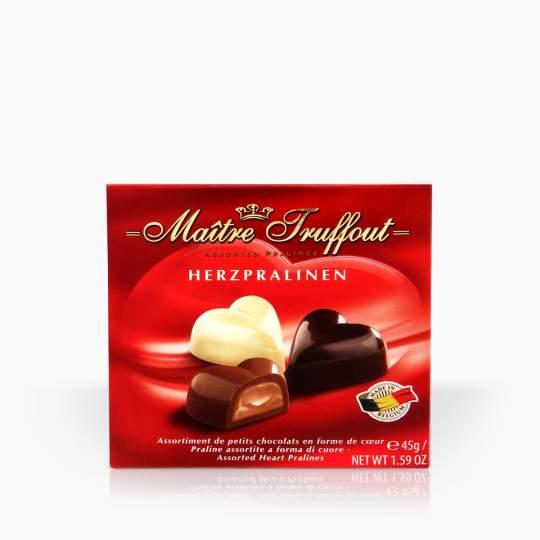 Maitre Truffout Belgian Hearts 45g