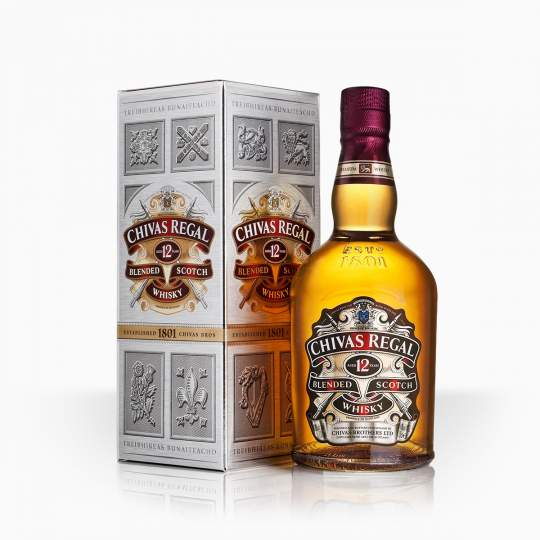 Whisky Chivas Regal 12YO 40% 0,7l