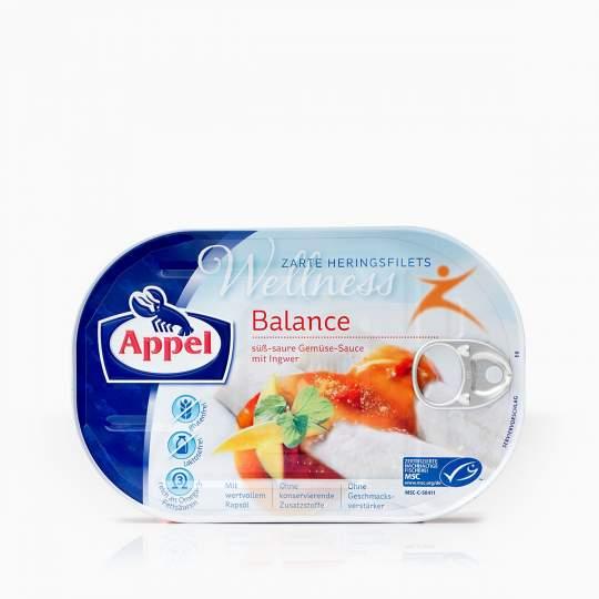 Appel Balance filety zo sleďa so zázvorom 200g