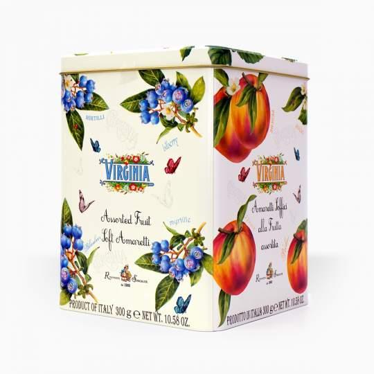 Virginia Amaretti Assorted Fruit 300g
