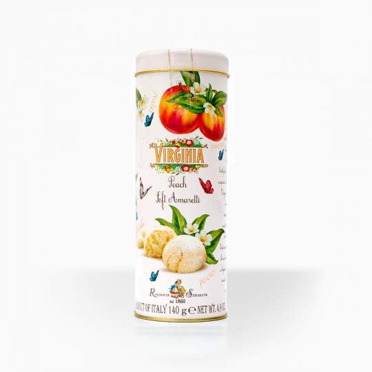 Virginia Amaretti Peach 140g