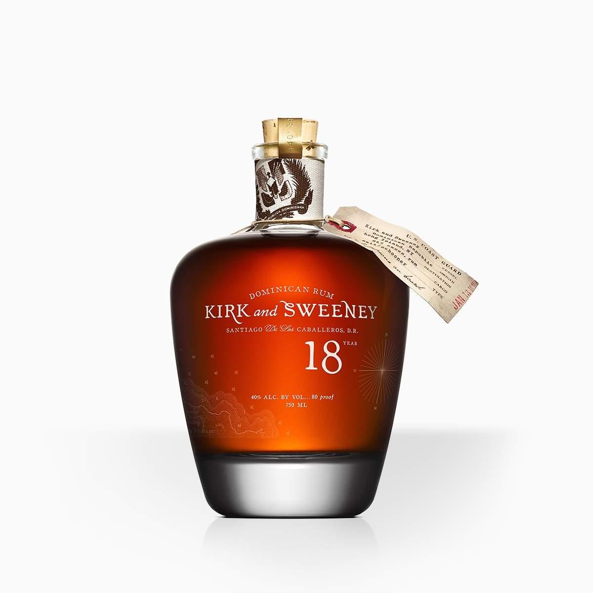 Rum Kirk And Sweeney 18YO 40% 0,7l