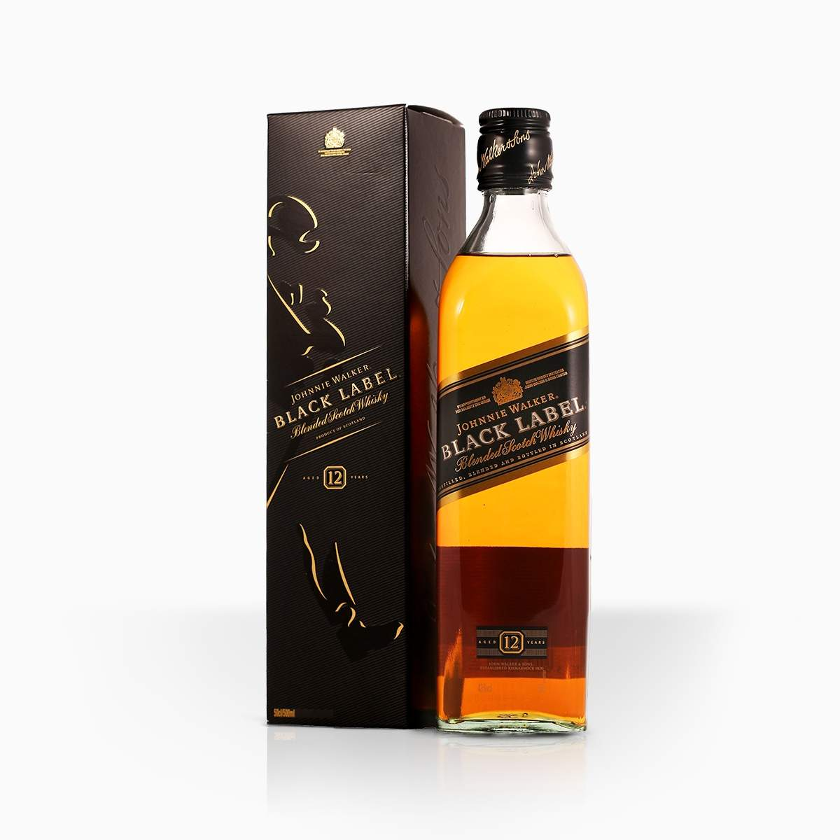 Whisky Johnnie Walker Black Label 12YO 40% 0,7l