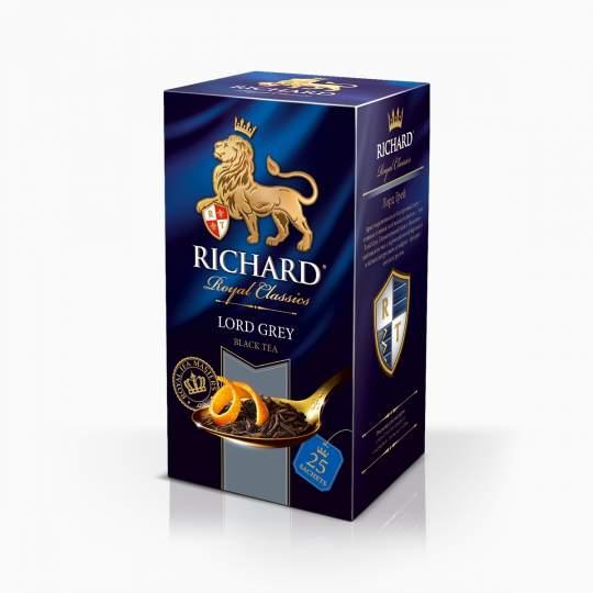 Richard Lord Grey čierny čaj vreckový 50g