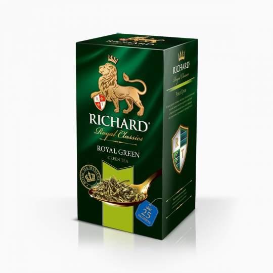 Richard Royal Green zelený čaj vreckový 50g