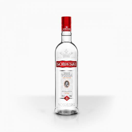 Vodka Sobieski Pure Grain 37,5% 0,7l