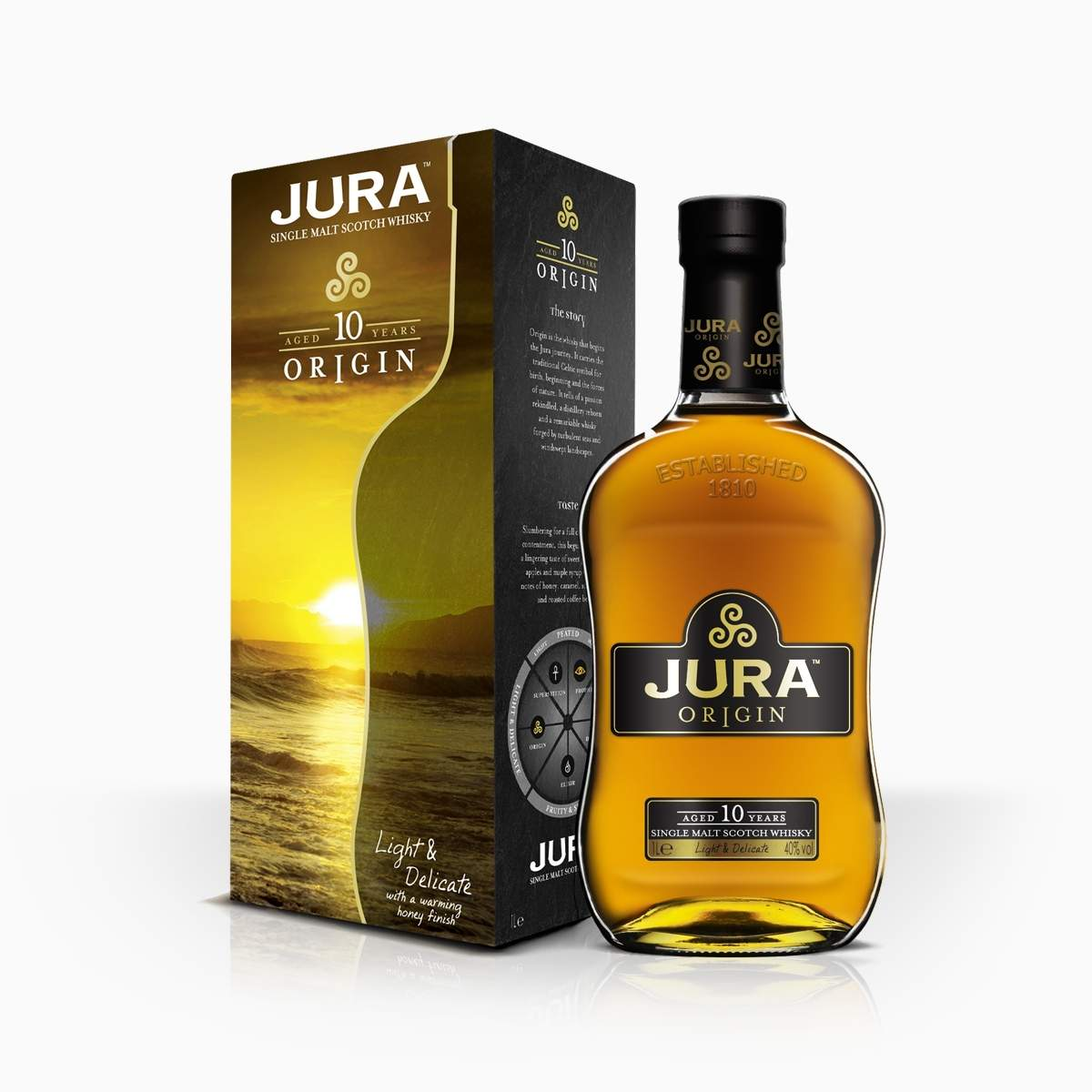 Whisky Isle of Jura 10YO 40% 0,7l