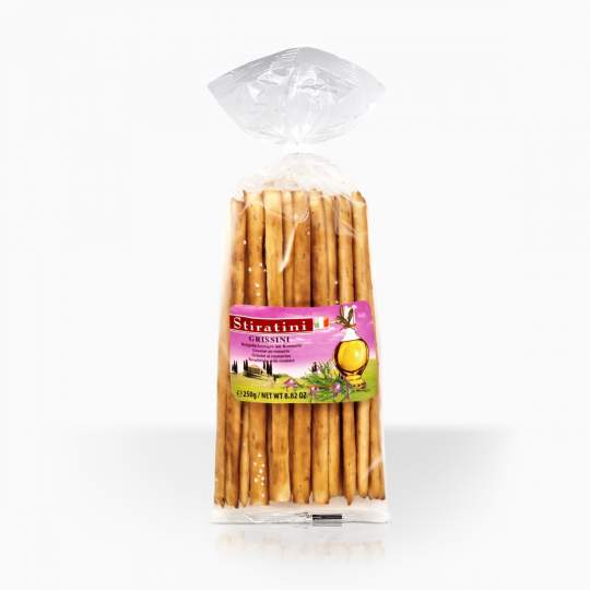 Stiratini Grissini Breadsticks With Rosmary 150g