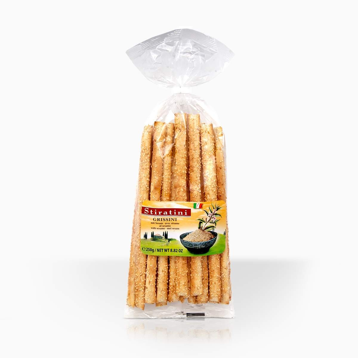 Stiratini talianske grissini so sezamom 250g