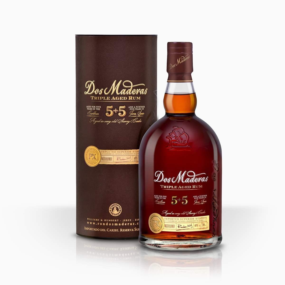 Rum Dos Maderas PX 10YO 40% 0,7l