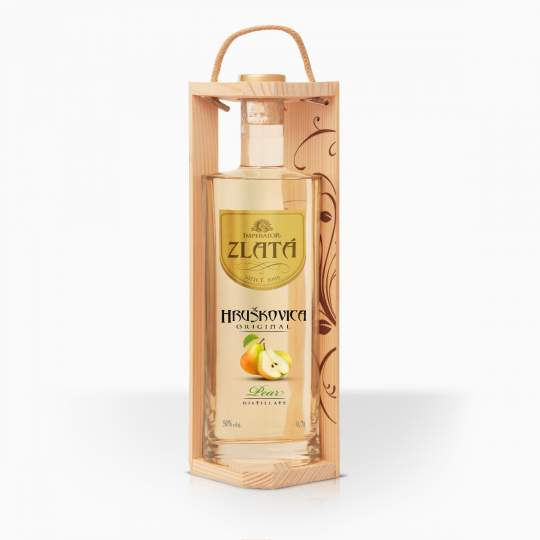 Distillate Imperator Williams Pears Gold Gift Box 50% 0,7l