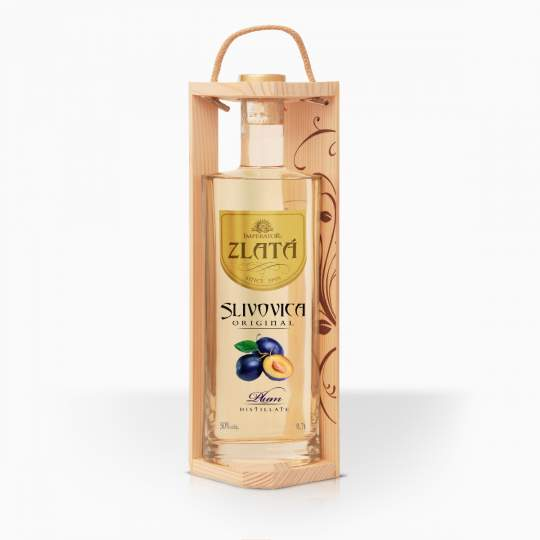 Distillate Imperator Plums Gold Gift Box 50% 0,7l