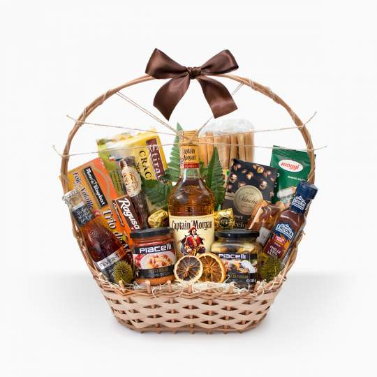 "Gift Basket ""Pirate Morgan"""