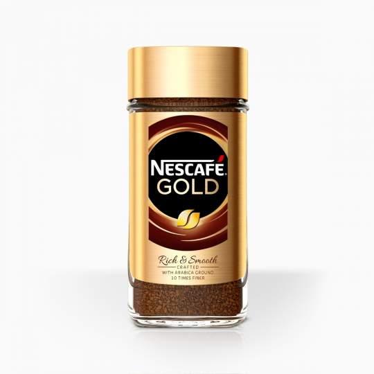 Nescafe Gold Original instantná káva 200g