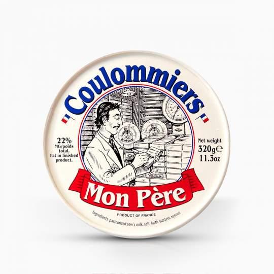 Syr Coulommiers Mon Pere s bielou plesňou 320g