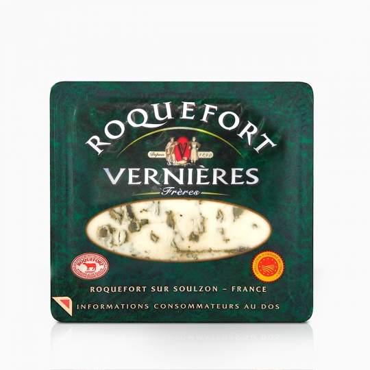 Syr Roquefort Vernieres s modrou plesňou 100g