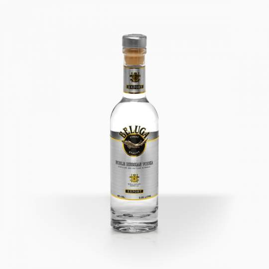 Vodka Beluga 40% 0,05l