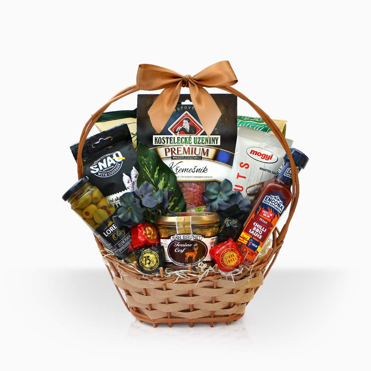"""Gift Basket """"The Right Man"""". Loading zoom"""