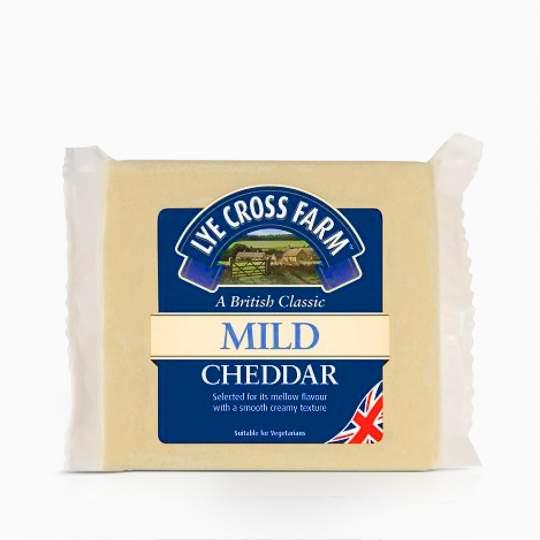 Syr Lye Cross Farm Mild White Cheddar 200g