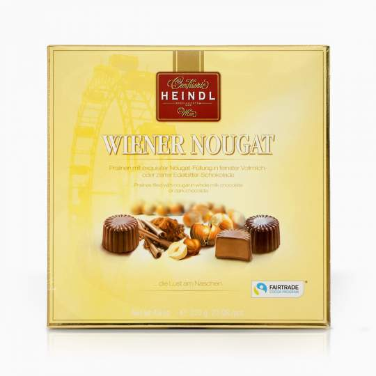 Heindl Wiener Nougat nugátové pralinky v čokoláde 225g