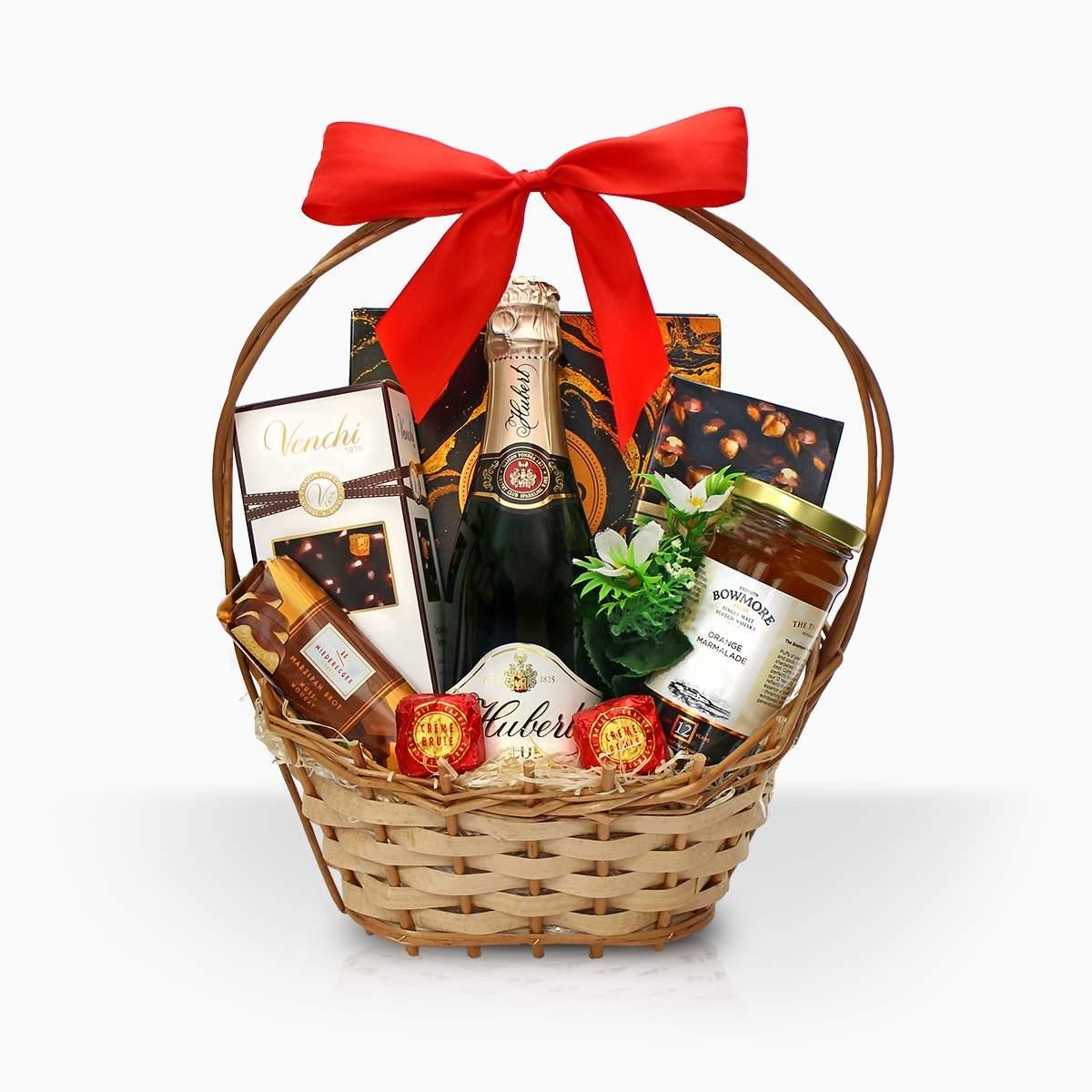 "Gift basket ""From Hubert"""