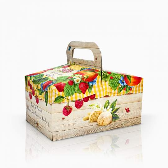Virginia Amaretti Assorted Fruit Box 240g