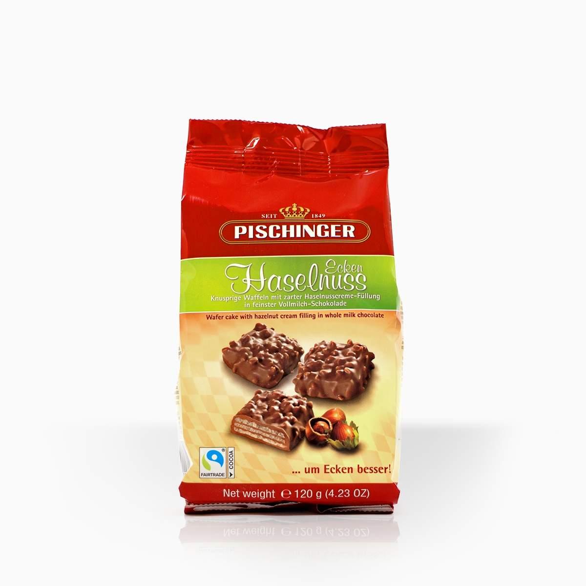 Pischinger oblátky s lieskovoorieškovým krémom v mliečnej čokoláde 120g
