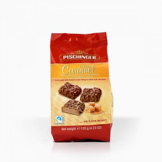 Pischinger oblátka s karamelovým krémom v mliečnej čokoláde 120g