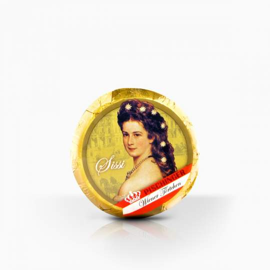 Pischinger Wiener Tortchen Mozart lieskovorieškova náplň v mliečnej čokoláde 45g