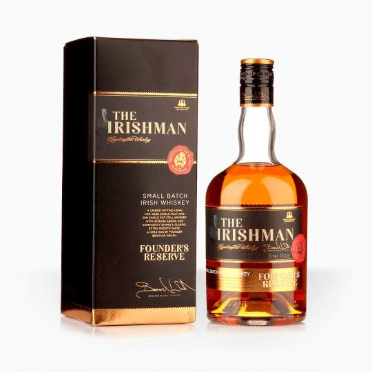 Whisky The Irishman Founder's Reserve 40% 0,7l