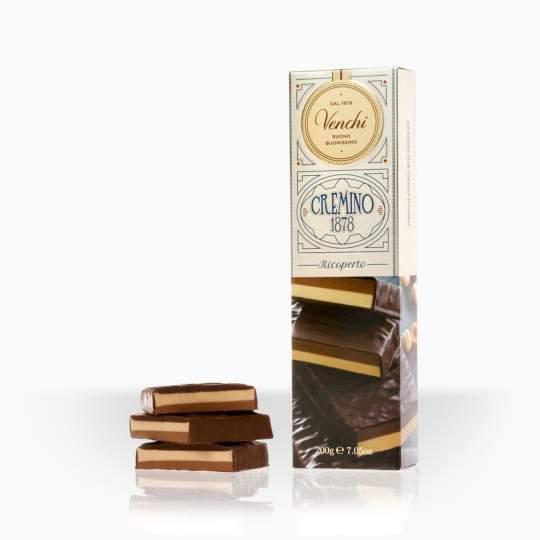 Venchi cremino tyčinka v horkej čokoláde 200g