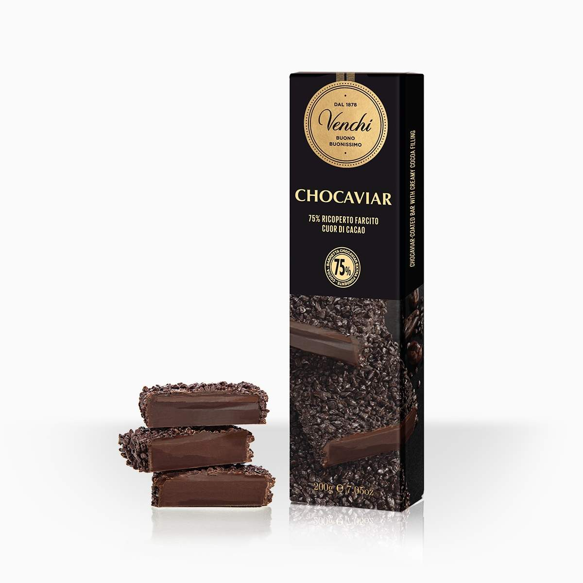 Venchi Chocaviar čokoládová tyčinka 200g