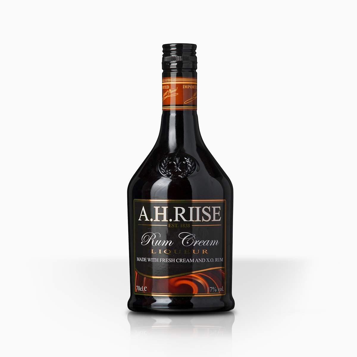 Likér A.H. Riise Rum Cream 17% 0,7l