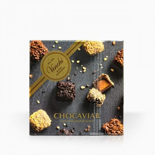 Venchi jemné talianske pralinky Chocaviar 130g