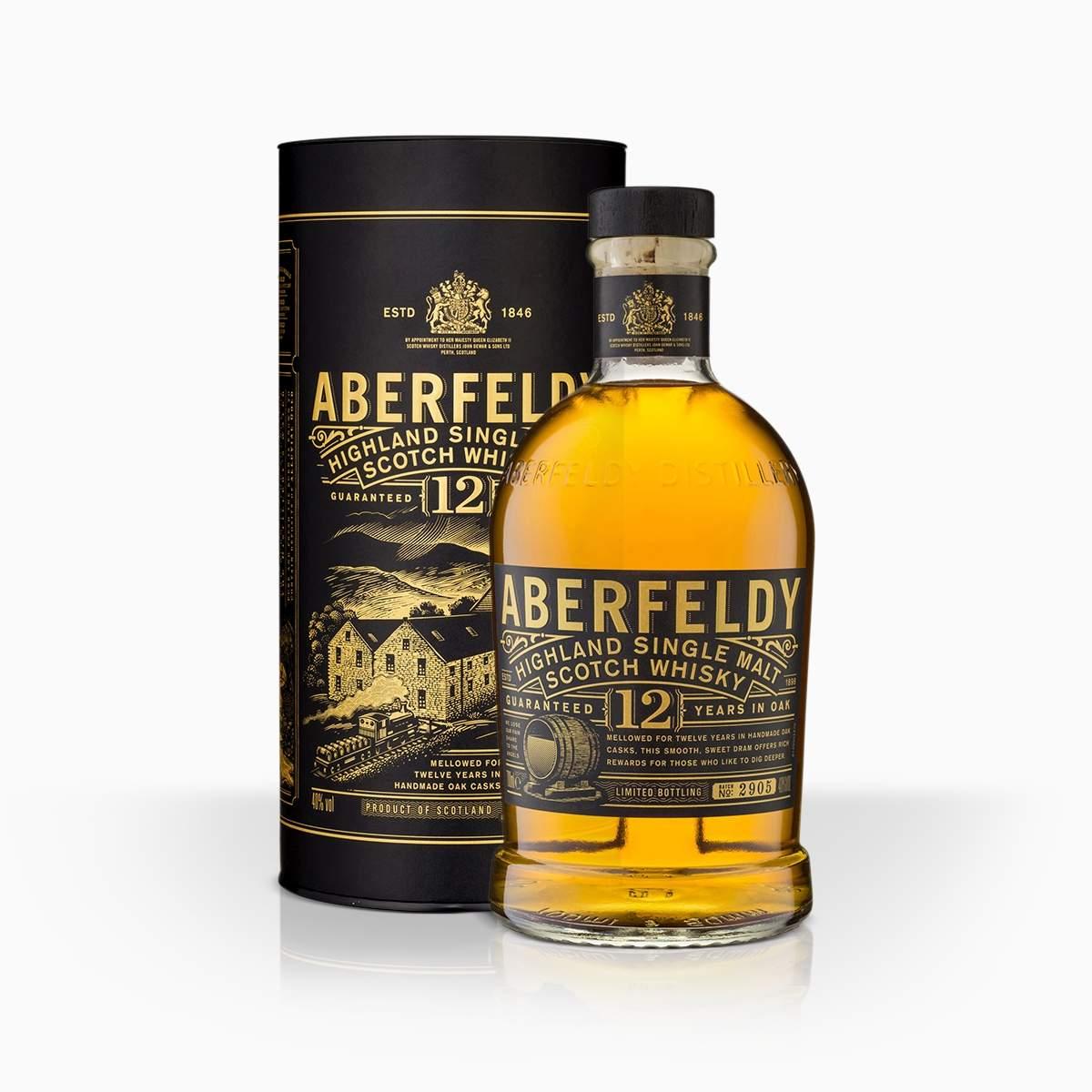 Whisky Aberfeldy 12YO 40% 0,7l