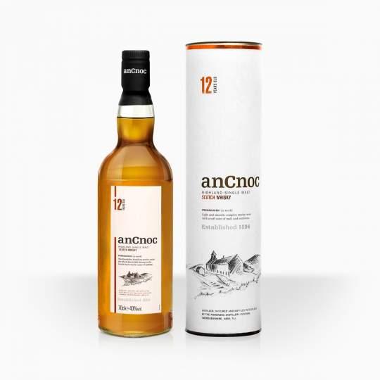 Whisky AnCnoc 12YO 40% 0,7l