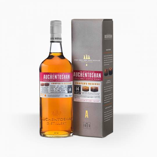 Whisky Auchentoshan Coopers Reserve 14YO 46% 0,7l